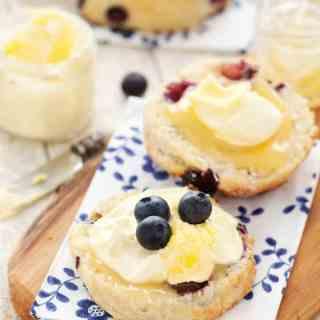 Blueberry Lemon Scones