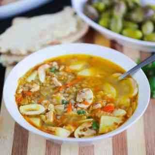 Russian Buckwheat Soup