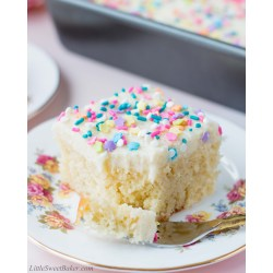 Small Crop Of Half Sheet Cake Size