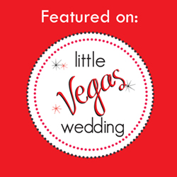 we were featured on little vegas wedding blog!