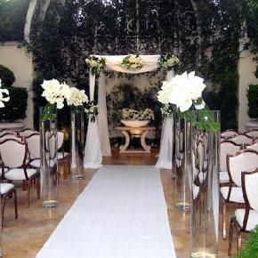 Wynn Wedding in Primrose Courtyard