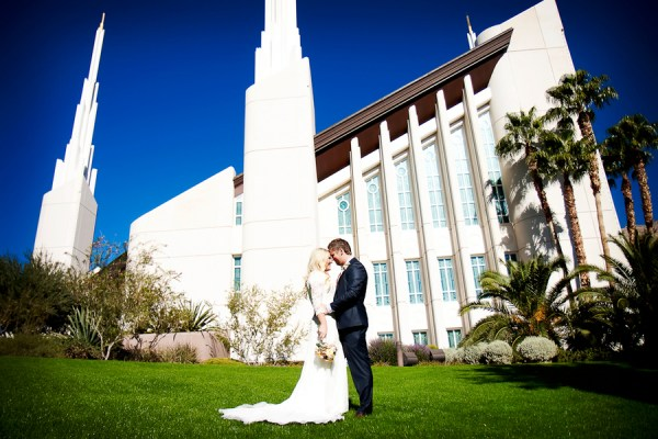LDS wedding vegas
