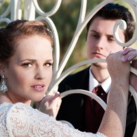 Les Misérables wedding styled shoot vegas