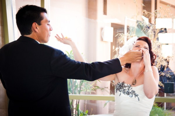 Eco-Friendly Vegas Wedding   KMH Photography