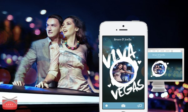 Appy Couple Las Vegas Wedding App