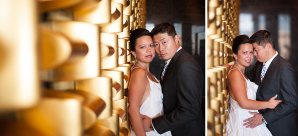 A Modern Las Vegas Elopement from Isaac Wu Photography | Little Vegas Wedding