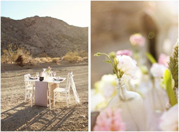 Rustic Desert Wedding Reception | Little Vegas Wedding