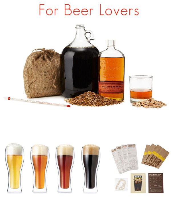 Wedding Gift Ideas For Beer Lovers : For Beer Connoisseurs : Bourbon Stout Beer Brewing Kit / Illusion ...