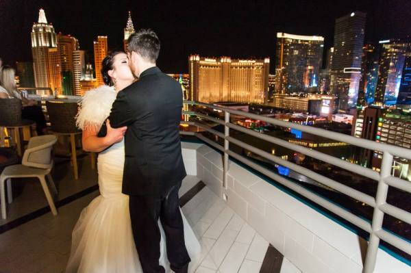 MGM Grand Skyline Terrace Wedding Reception | Little Vegas Wedding