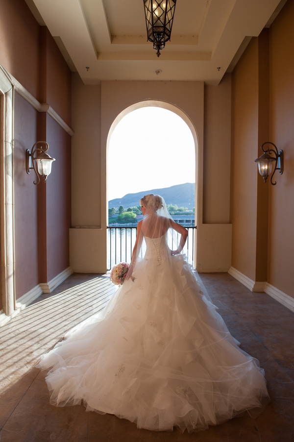 Romantic Hilton Lake Las Vegas Wedding by Images by Edi | Little Vegas Wedding