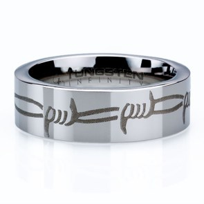 Barbed Wire Ring | 28 Unique Wedding Rings for Men