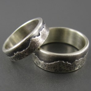 Mountain Ring Wedding Ring  | 28 Unique Wedding Rings for Men