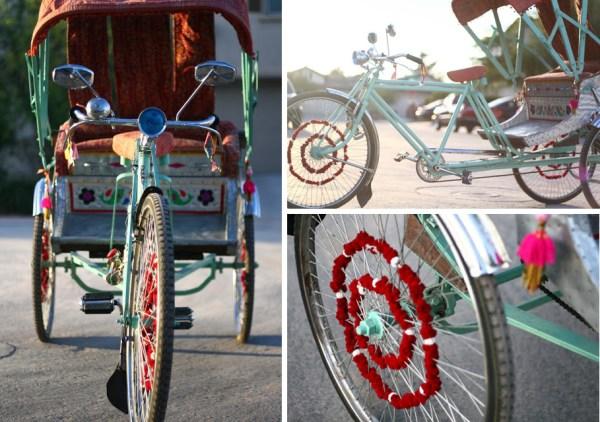Vintage Rickshaw | Unique Las Vegas Wedding Transportation | Little Vegas Wedding