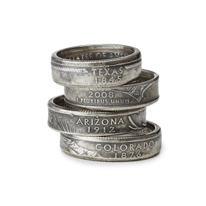 Vintage Coin Ring | 28 Unique Wedding Rings for Men