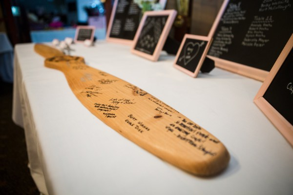 Wedding Guestbook Airplane Propeller | Little Vegas Wedding