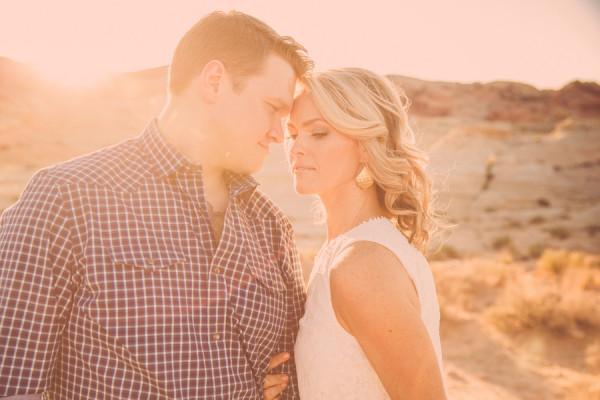 Desert Engagement   Little Vegas Wedding