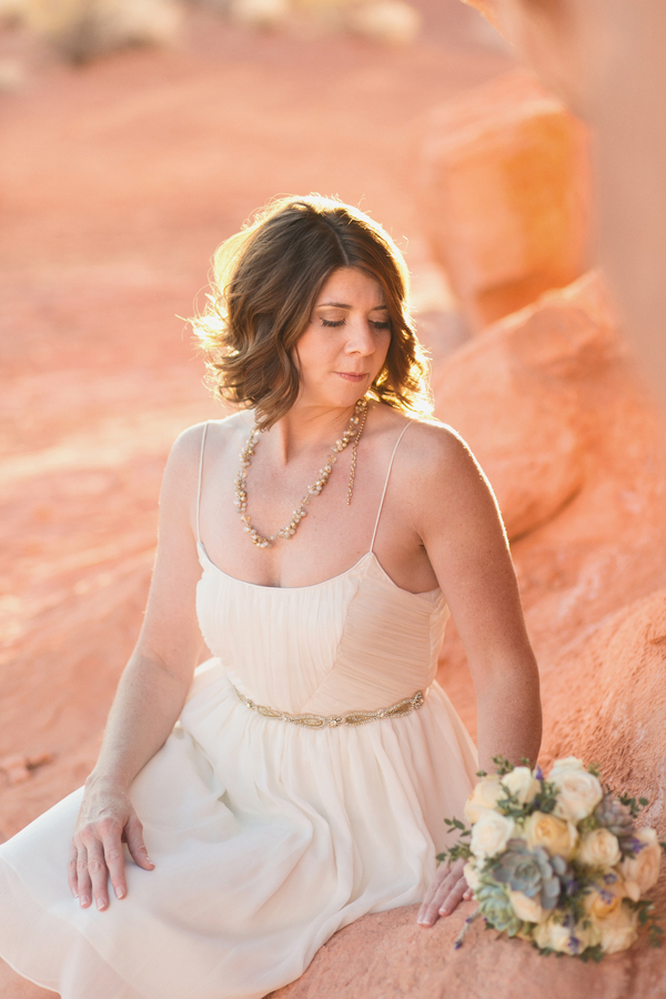 Rustic-Glam Valley of Fire Wedding | Little Vegas Wedding