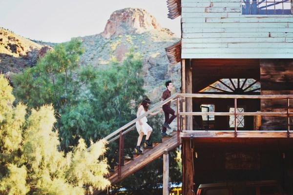 Desert Ghost Town Elopement | Little Vegas Wedding