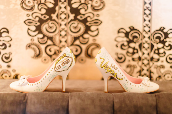 Vegas Wedding Shoes | Little Vegas Wedding