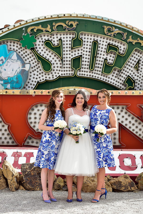 Neon Museum | Little Vegas Wedding
