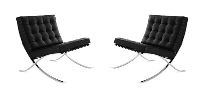 Furniture Chair Barcelona Van Der Rohe
