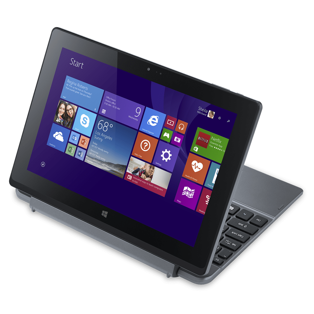 Review acer one 10 affordable windows 2 in 1 for Affordable windows