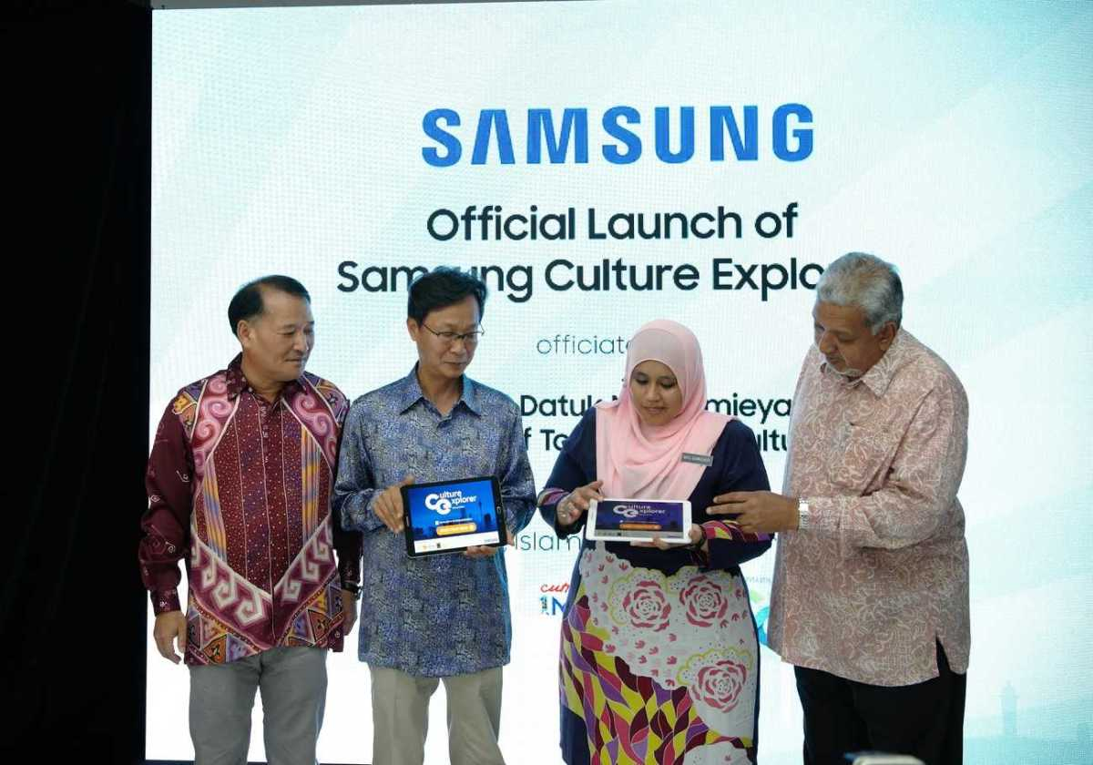 Samsung Virtual Tour App Showcases Malaysia's Heritage