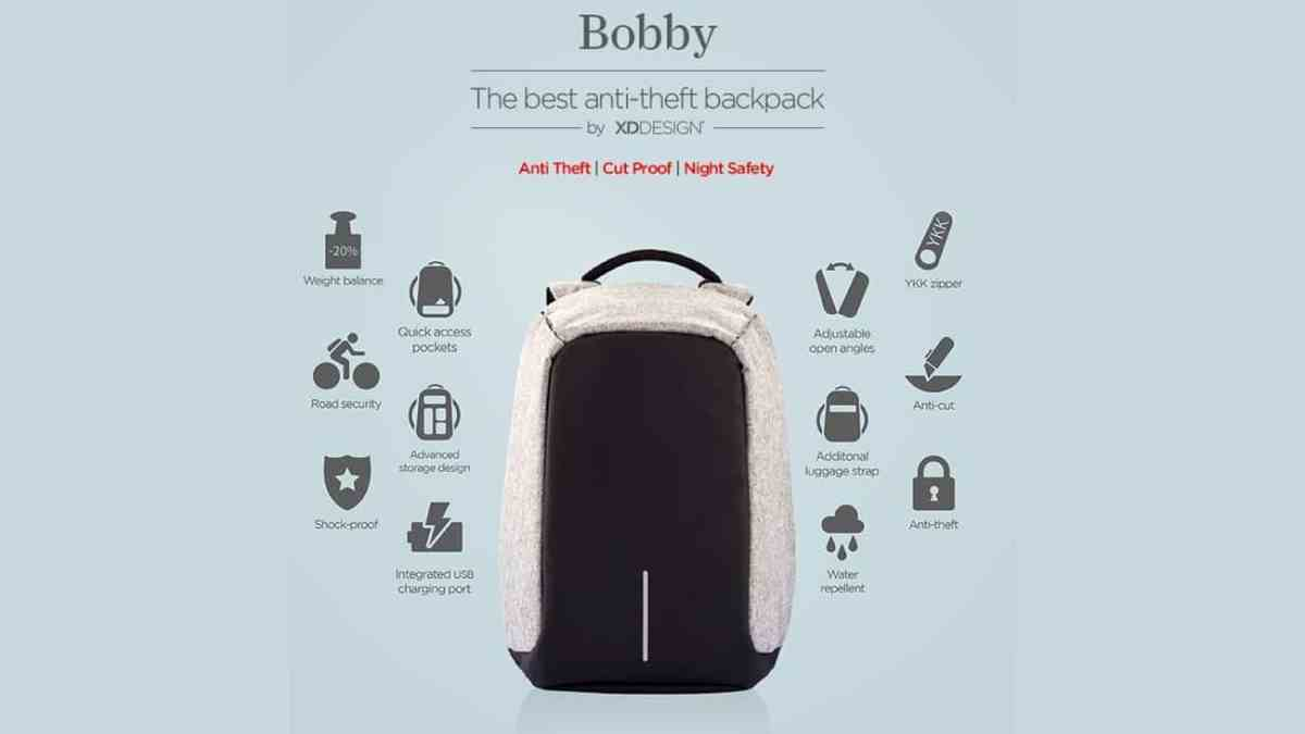 Gizmos: Bobby the Anti-theft Backpack