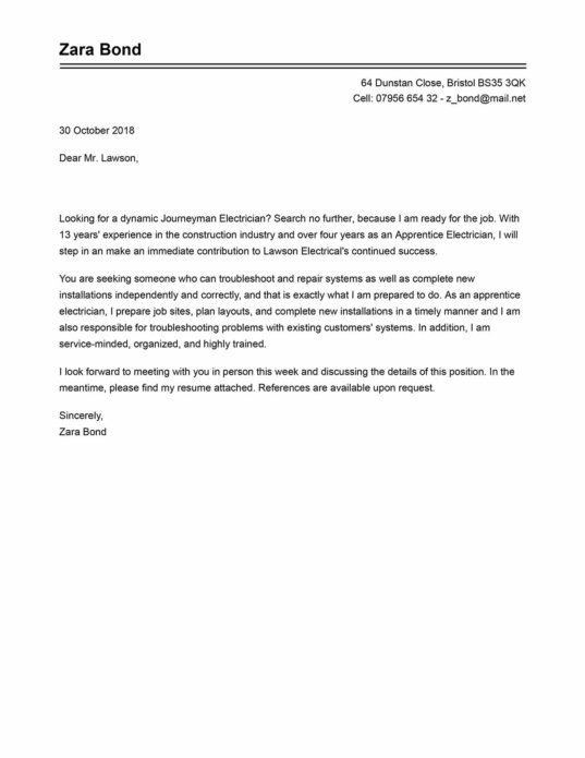 Find the best cover letter templates for you LiveCareer