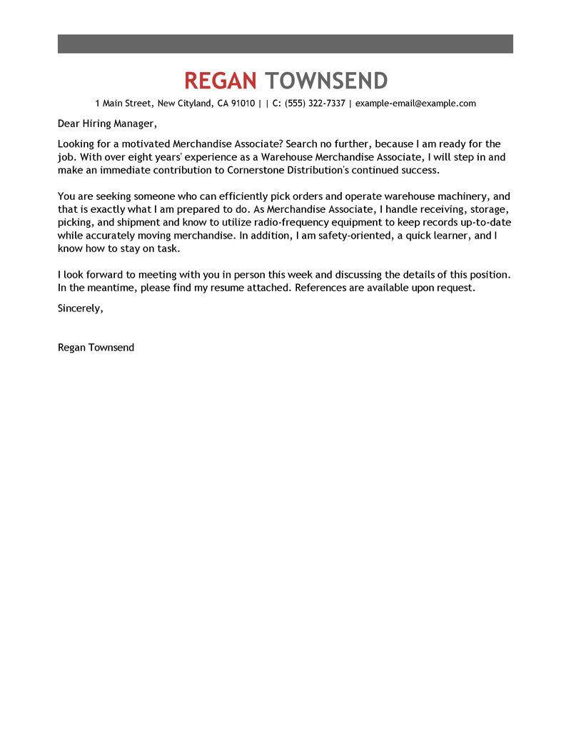 Cover Letter For Visual Merchandiser Images - Cover Letter Ideas