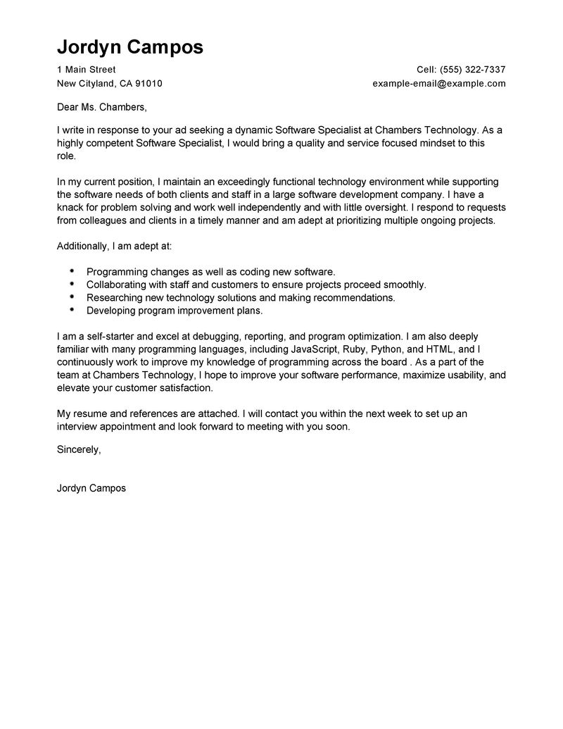 Cover Letter Examples 2015 Top 7 Cover Letter Tips For 2015 Great Resumes Fast Software Specialist Cover Letter Examples Computers