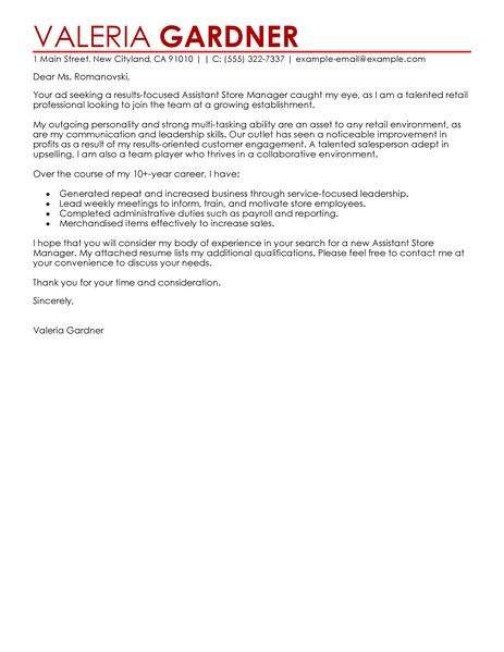 sample of cover letter for retail position domov cover letter sales manager cover letter gopitch co