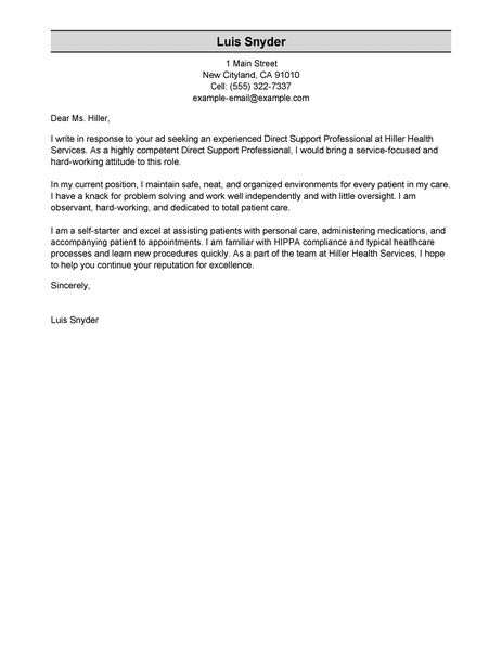 leading professional housekeeper cover letter examples resources