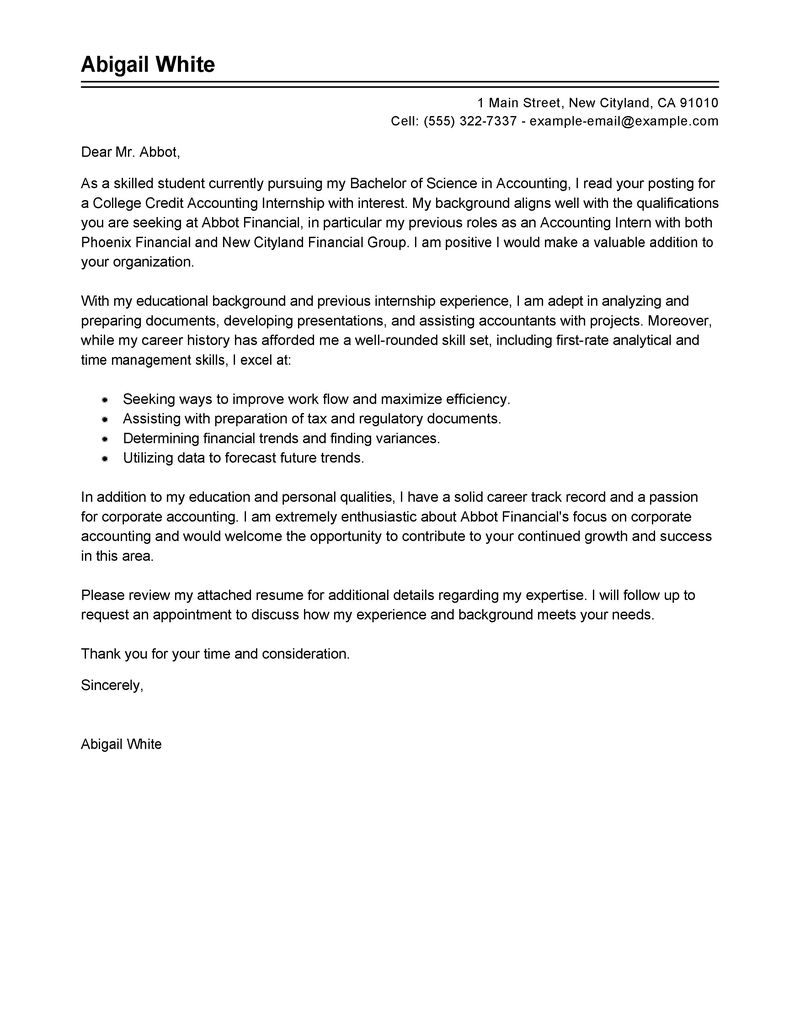 Cover Letter Finance Example Cover Letter Finance Template Finance