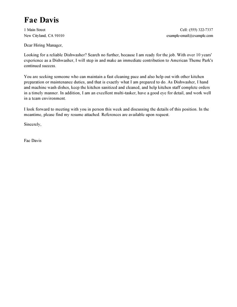 Cover Letter Samples Quality Assurance | Resume Pdf Download