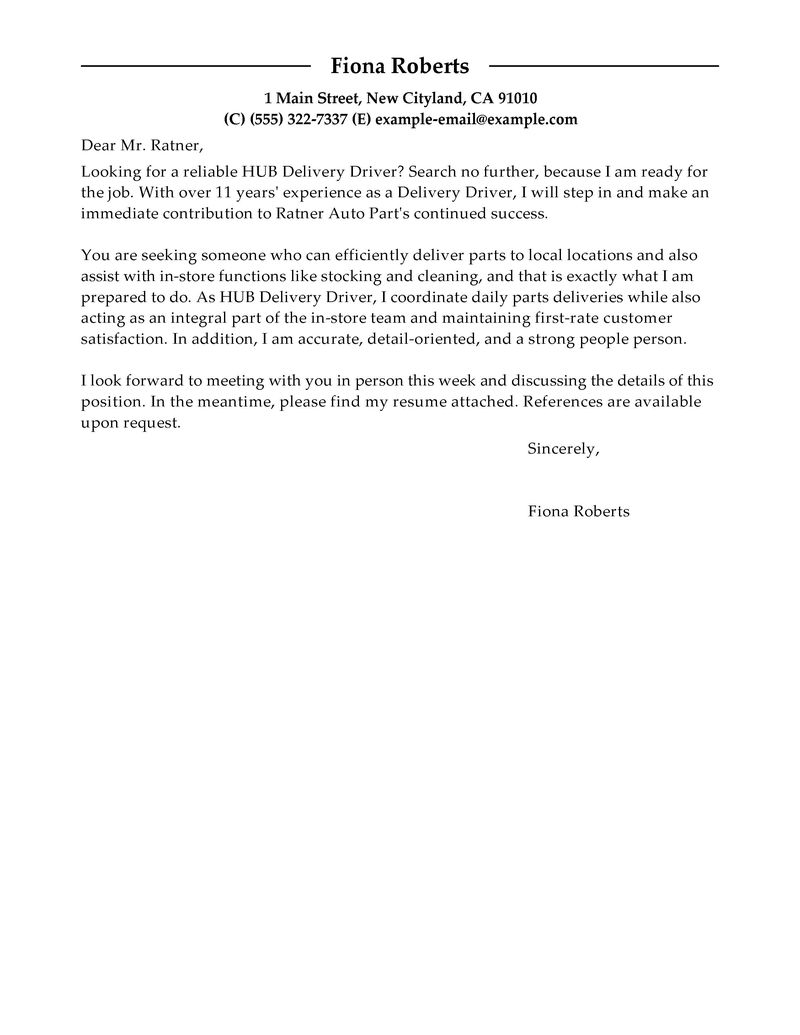 cover letter for bus driver driver cover letter samples template ...