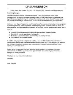 Administrative Support Cover Letter Sample Administrative Sales Representative Cover Letter Examples Accounting