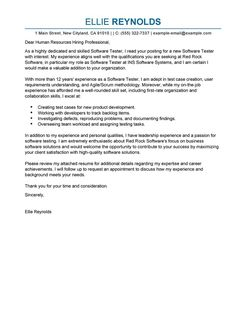Cover Letter Template For Qa Position | Receptionist Cover Letter ...
