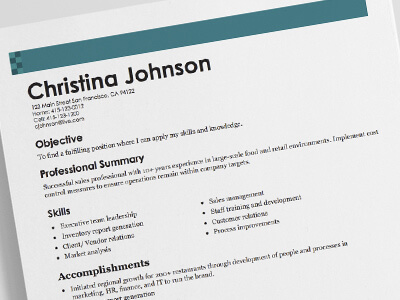 how to make work resume - Selol-ink