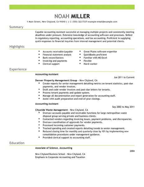 Accounts Receivable Cv Resume Sample Functional Resume Wikihow Best Accounting Assistant Resume Example Livecareer