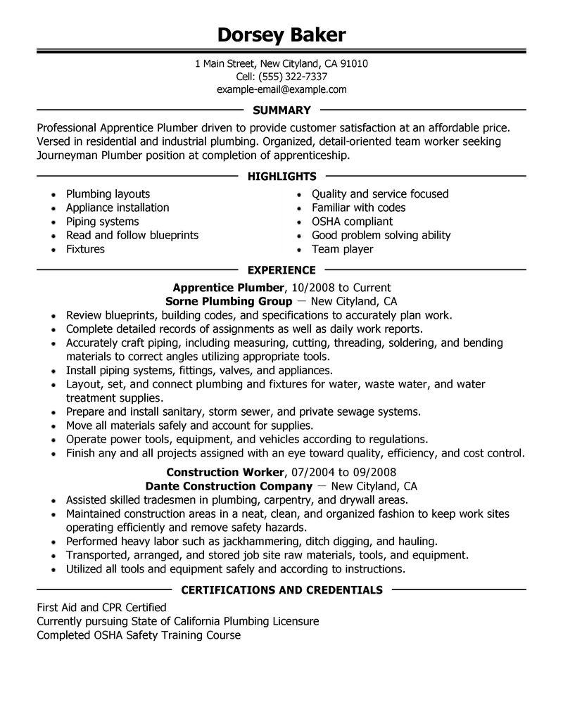 Carpenter Cover Letter Job Application