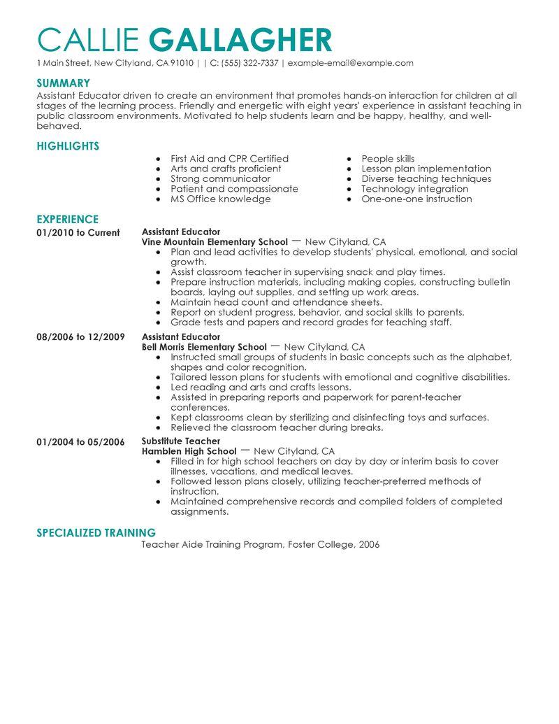 resume help skills examples