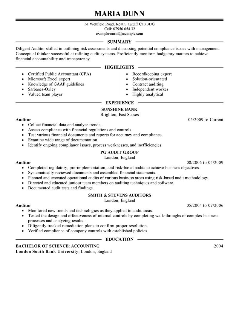 staff auditor resume professional resume cover letter sample staff auditor resume staff auditor resume samples jobhero auditor resume success
