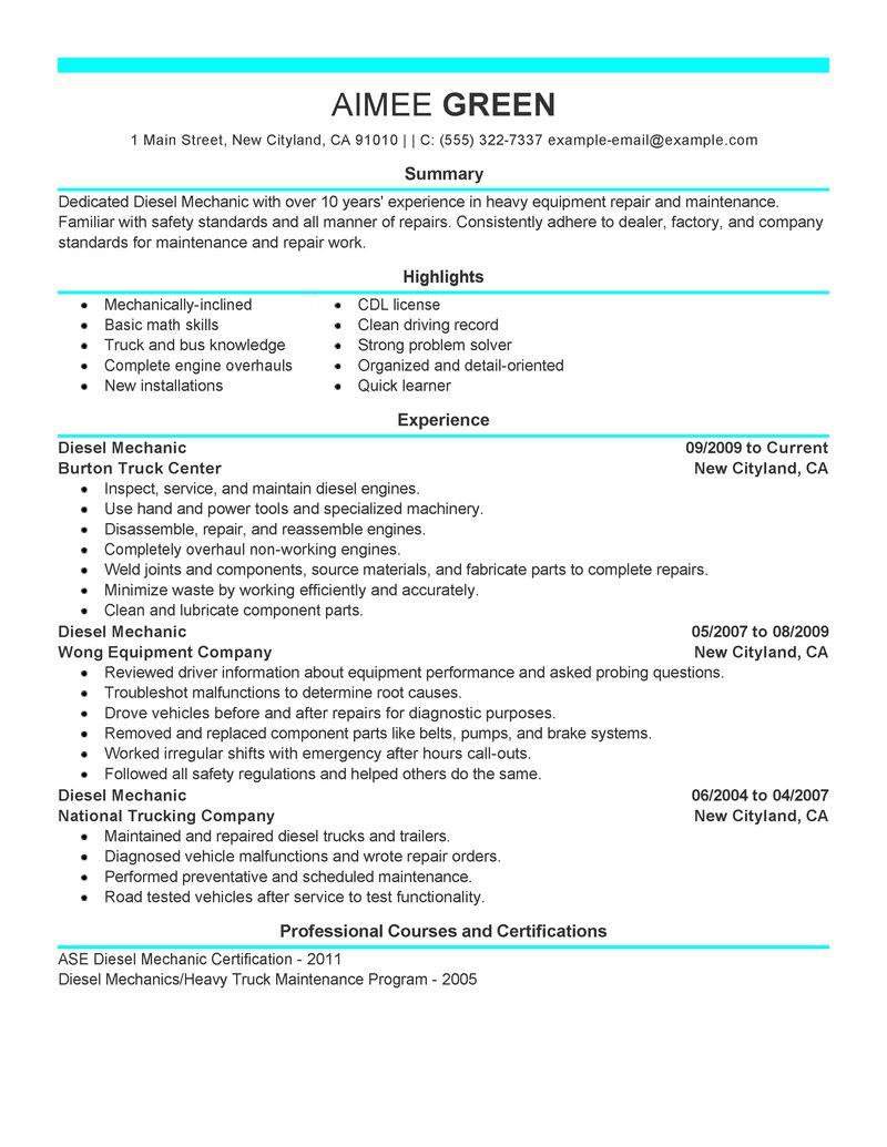 Work related skills resume