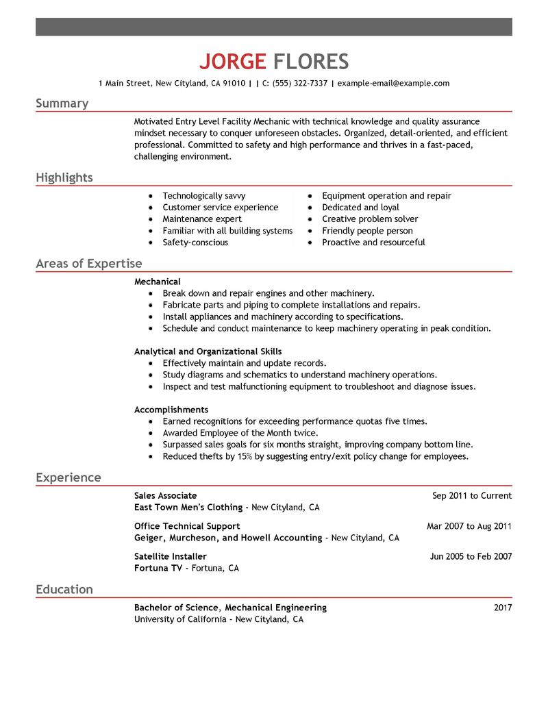 mechanic resume template auto mechanic helper resume sample resume templates for auto mechanic auto body technician - Auto Performance Engineer Sample Resume
