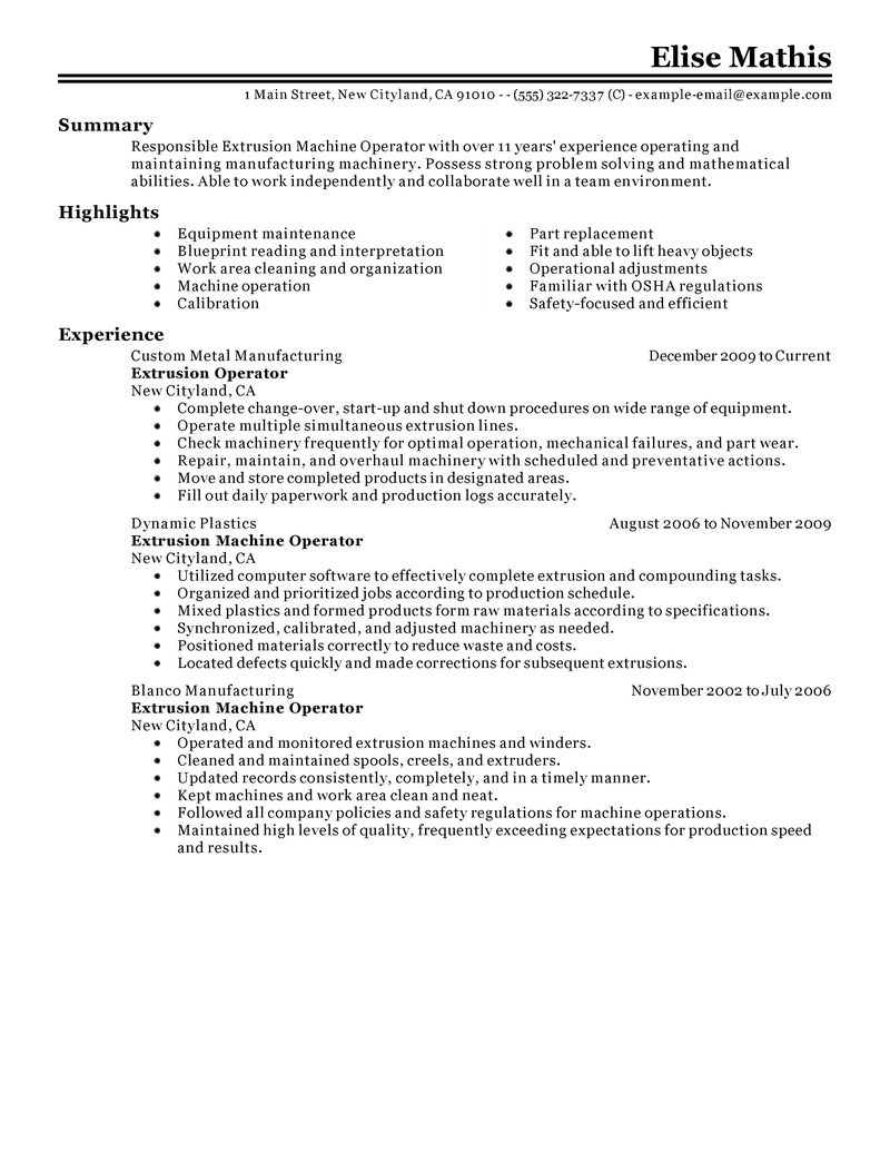 resume production assistant