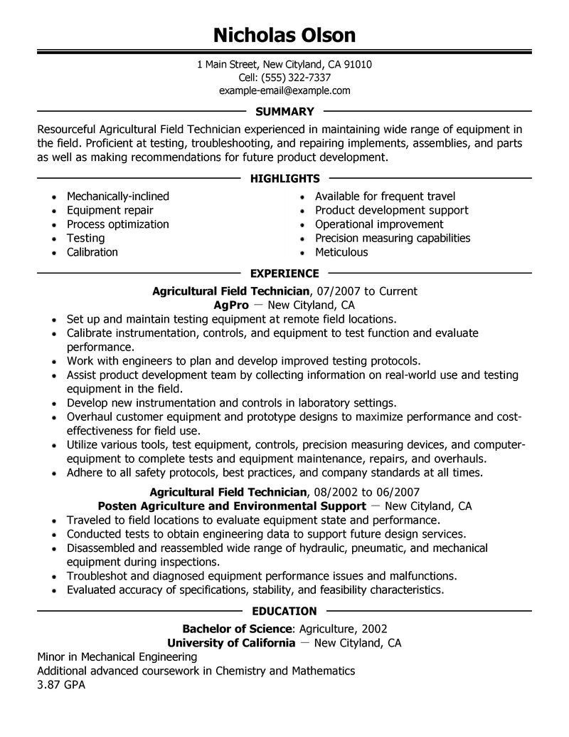Resume Examples Quality Manager Quality Manager Resume Samples Jobhero Best Field Technician Resume Example Livecareer