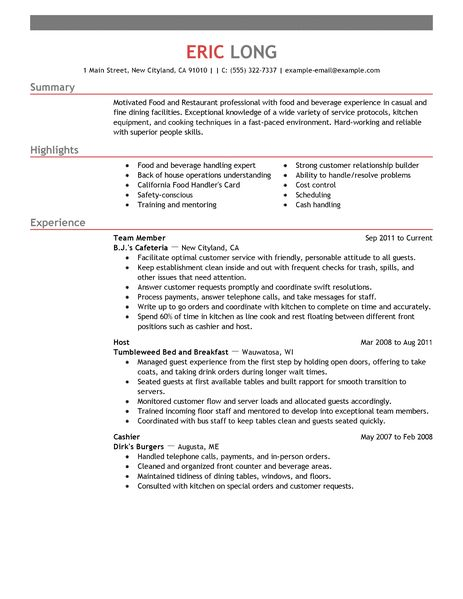 sample of resume restaurant manager operations manager resume sample resume food restaurant food restaurant resume example