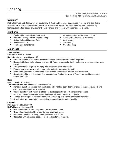 Custom Paper Writing ServiceTerm-paper host hostess resume sample