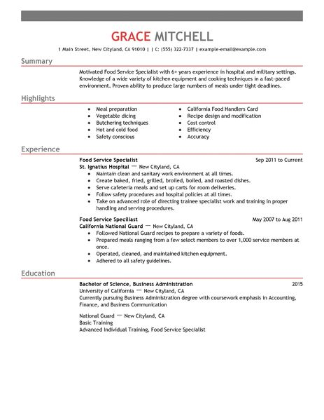 The importance of reading and writing English - Tour for Diversity - sample of a customer service resume